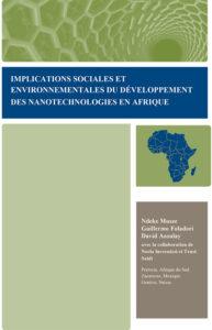 LIbro Implicaciones nanotec en África Francés